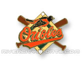 X-BAT PIN in BALTIMORE ORIOLES Found in: MLB > Baltimore Orioles > Souvenirs > Pins