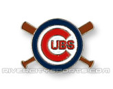 X-BAT PIN in CHICAGO CUBS Found in: MLB > Chicago Cubs > Souvenirs > Pins