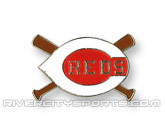 X-BAT PIN in CINCINNATI REDS Found in: MLB > Cincinnati Reds > Souvenirs > Pins