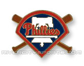 X-BAT PIN in PHILADELPHIA PHILLIES Found in: MLB > PHILADELPHIA PHILLIES > Souvenirs > Pins