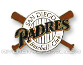 X-BAT PIN in SAN DIEGO PADRES Found in: MLB > San Diego Padres > Souvenirs > Pins