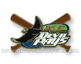 X-BAT PIN in TAMPA BAY DEVIL RAYS Found in: MLB > Tampa Bay Devil Rays > Souvenirs > Pins