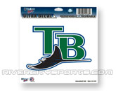 4.5 X 6 LOGO DECAL in TAMPA BAY DEVIL RAYS Found in: MLB > Tampa Bay Devil Rays > Souvenirs > Stickers