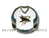 HOME SWEATER PIN in SAN JOSE SHARKS Found in: NHL > SAN JOSE SHARKS > Souvenirs > Pins