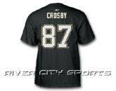 REEBOK NHL JERSEY PA T-SHIRT - CROSBY in PITTSBURGH PENGUINS Found in: NHL > PITTSBURGH PENGUINS > Clothing > T-Shirts