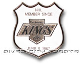 SHIELD PIN [OLD STYLE LOGO] in LOS ANGELES KINGS Found in: NHL > LOS ANGELES KINGS > Souvenirs > Pins