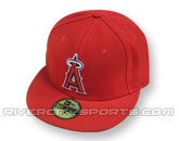 NEW ERA AUTHENTIC COLLECTION 59FIFTY GAME CAP in LOS ANGELES ANGELS Found in: MLB > Los Angeles Angels > Clothing > Hats