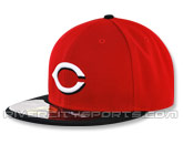 NEW ERA AUTHENTIC COLLECTION 59FIFTY ROAD CAP in CINCINNATI REDS Found in: MLB > Cincinnati Reds > Clothing > Hats