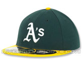 NEW ERA AUTHENTIC COLLECTION 59FIFTY HOME CAP in OAKLAND A