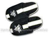 YOUTH SPORT STRIPE SLIPPERS in PITTSBURGH PENGUINS Found in: NHL > PITTSBURGH PENGUINS > Clothing > Footwear