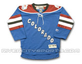 REEBOK YOUTH PREMIER REPLICA JERSEY in COLORADO AVALANCHE Found in: NHL > COLORADO AVALANCHE > Jerseys > Premier