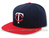 NEW ERA AUTHENTIC COLLECTION 59FIFTY ROAD CAP in MINNESOTA TWINS Found in: MLB > Minnesota Twins > Clothing > Hats