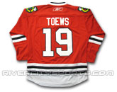 NHL > CHICAGO BLACKHAWKS > Jerseys > REEBOK PREMIER REPLICA JERSEY TOEWS PRECUSTOMIZED