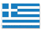 3 X 5 FLAG in GREECE Found in: SOCCER > Greece > Souvenirs > Flags