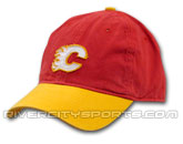 ADJUSTABLE SLOUCH CAP in CALGARY FLAMES Found in: NHL > CALGARY FLAMES > Clothing > Hats