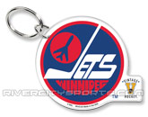 ACRYLIC KEY RING PREMIUM in WINNIPEG JETS Found in: NHL VINTAGE > Winnipeg Jets > Souvenirs > Keychains