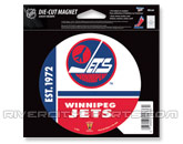 DIE CUT MAGNET in WINNIPEG JETS Found in: NHL VINTAGE > Winnipeg Jets > Souvenirs > Magnets