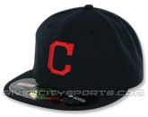 NEW ERA AUTHENTIC COLLECTION 2011 59FIFTY ROAD CAP in CLEVELAND INDIANS Found in: MLB > Cleveland Indians > Clothing > Hats