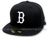 NEW ERA 59FIFTY LOGO CAP in BOSTON RED SOX Found in: MLB > Boston Red Sox > Clothing > Hats