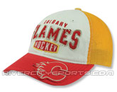 CCM VINTAGE SLOUCH MESHBACK in CALGARY FLAMES Found in: NHL > CALGARY FLAMES > Clothing > Hats