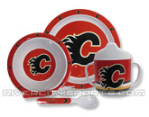 pic# 164555, style# NHL5PDSCAL for River City Sports product in: NHL > CALGARY FLAMES > Souvenirs > Baby