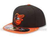 NEW ERA AUTHENTIC COLLECTION 2012 59FIFTY ROAD CAP in BALTIMORE ORIOLES Found in: MLB > Baltimore Orioles > Clothing > Hats
