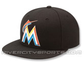 NEW ERA AUTHENTIC COLLECTION 59FIFTY HOME CAP in FLORIDA MARLINS Found in: MLB > Florida Marlins > Clothing > Hats