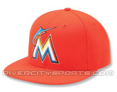 NEW ERA AUTHENTIC COLLECTION 59FIFTY ROAD CAP in FLORIDA MARLINS Found in: MLB > Florida Marlins > Clothing > Hats