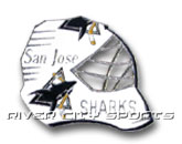 G.MASK PIN in SAN JOSE SHARKS Found in: NHL > SAN JOSE SHARKS > Souvenirs > Pins