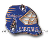 GOAL MASK PIN in WASHINGTON CAPITALS Found in: NHL > WASHINGTON CAPITALS > Souvenirs > Pins