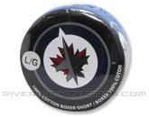 JOE BOXER HOCKEY PUCK BOXER SHORTS in WINNIPEG JETS Found in: NHL > Winnipeg Jets > Clothing > Accessorie
