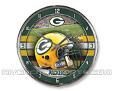 WINCRAFT CHROME CLOCK in GREEN BAY PACKERS Found in: NFL > GREEN BAY PACKERS > Souvenirs > Clocks