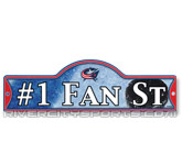 STREET SIGN in COLUMBUS BLUE JACKETS Found in: NHL > COLUMBUS BLUE JACKETS > Souvenirs > Signs