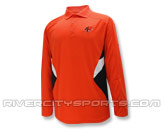 REEBOK SIDELINE STANDOUT LONG SLEEVE POLO in BC LIONS Found in: CFL > BC LIONS > Clothing > Shirts