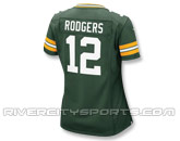 NIKE LADIES GAME TEAM JERSEY-RODGERS in GREEN BAY PACKERS Found in: NFL > GREEN BAY PACKERS > Jerseys > Replica
