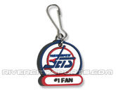 VINTAGE NAME ZIPPER PULL in WINNIPEG JETS Found in: NHL VINTAGE > Winnipeg Jets > Souvenirs > Keychains