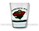 HIGHLIGHT SHOT GLASS in MINNESOTA WILD Found in: NHL > MINNESOTA WILD > Souvenirs > Glassware