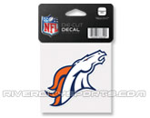 WINCRAFT 4X4 DIE CUT DECAL in DENVER BRONCOS Found in: NFL > DENVER BRONCOS > Souvenirs > Stickers