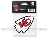 WINCRAFT 4X4 DIE CUT DECAL in KANSAS CITY CHIEFS Found in: NFL > KANSAS CITY CHIEFS > Souvenirs > Stickers
