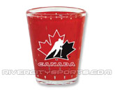 2014 JERSEY SHOT GLASS in CANADA Found in: INTERNATIONAL > Canada > Souvenirs > Glassware