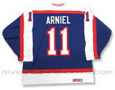 CCM SEMI-PRO JERSEY - RCS CUSTOMIZED - ARNIEL in WINNIPEG JETS Found in: NHL VINTAGE > Winnipeg Jets > Jerseys > Premier