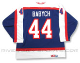 CCM SEMI-PRO JERSEY - RCS CUSTOMIZED - BABYCH in WINNIPEG JETS Found in: NHL VINTAGE > Winnipeg Jets > Jerseys > Premier