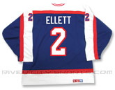 CCM SEMI-PRO JERSEY - RCS CUSTOMIZED - ELLETT in WINNIPEG JETS Found in: NHL VINTAGE > Winnipeg Jets > Jerseys > Premier