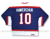 CCM SEMI-PRO JERSEY - RCS CUSTOMIZED - HAWERCHUCK in WINNIPEG JETS Found in: NHL VINTAGE > Winnipeg Jets > Jerseys > Premier