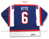 CCM SEMI-PRO JERSEY - RCS CUSTOMIZED - KYTE in WINNIPEG JETS Found in: NHL VINTAGE > Winnipeg Jets > Jerseys > Premier