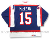 CCM SEMI-PRO JERSEY - RCS CUSTOMIZED - MACLEAN in WINNIPEG JETS Found in: NHL VINTAGE > Winnipeg Jets > Jerseys > Premier
