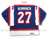 CCM SEMI-PRO JERSEY - RCS CUSTOMIZED - NUMMINEN in WINNIPEG JETS Found in: NHL VINTAGE > Winnipeg Jets > Jerseys > Premier