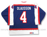 CCM SEMI-PRO JERSEY - RCS CUSTOMIZED - OLAUSSON in WINNIPEG JETS Found in: NHL VINTAGE > Winnipeg Jets > Jerseys > Premier