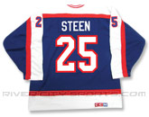 CCM SEMI-PRO JERSEY - RCS CUSTOMIZED - STEEN in WINNIPEG JETS Found in: NHL VINTAGE > Winnipeg Jets > Jerseys > Premier