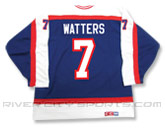 CCM SEMI-PRO JERSEY - RCS CUSTOMIZED - WATTERS in WINNIPEG JETS Found in: NHL VINTAGE > Winnipeg Jets > Jerseys > Premier